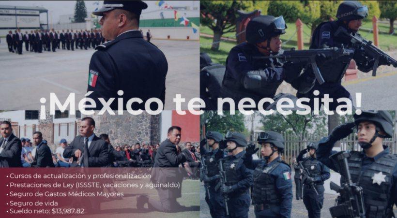 Emite CSNEO convocatoria para vacante de Policía en el Servicio de Protección Federal