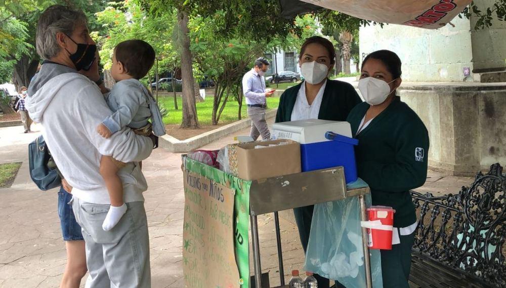 Realiza IMSS en Oaxaca Campaña de Seguimiento de Vacunación en menores de edad