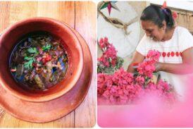 Las flores aportan un delicado sabor y colorido a la cocina de Oaxaca