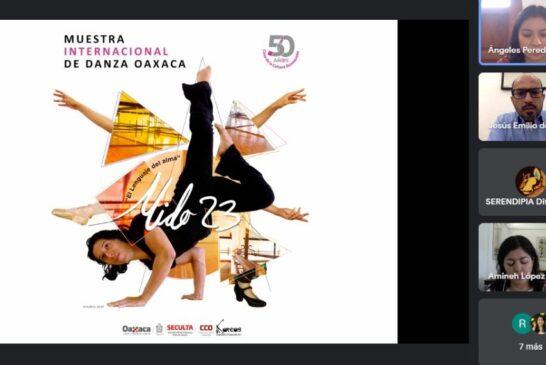 Presentan la 23 Muestra Internacional de Danza Oaxaca