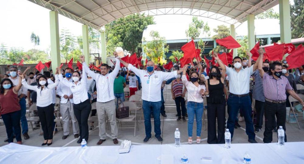 Se suma Antorcha Campesina al nuevo Oaxaca que construirá Javier Villacaña