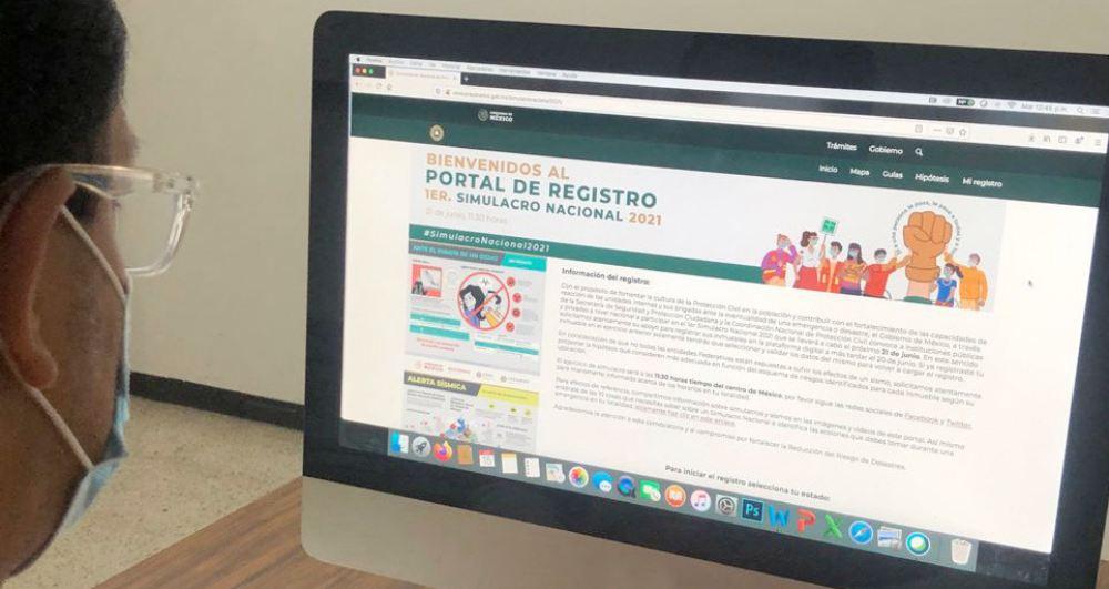 Convoca IEEPO a comunidad escolar a inscribirse y participar en primer Simulacro Nacional 2021