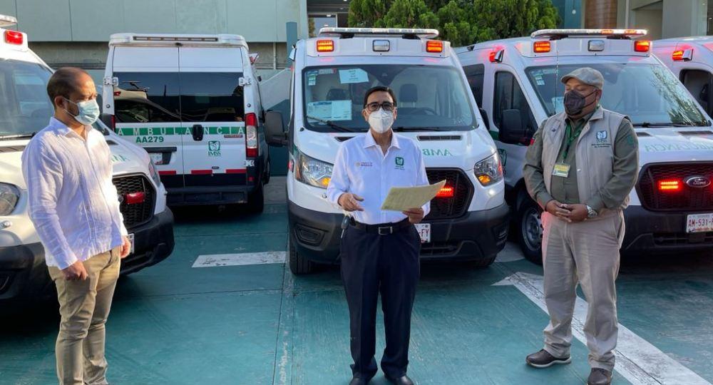 Fortalece IMSS Oaxaca traslado de pacientes con ambulancias nuevas y equipadas