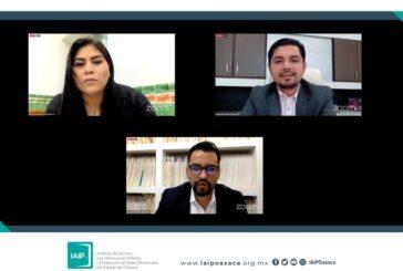 Resuelve IAIP Oaxaca 44 recursos de revisión