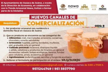 Abre Ayuntamiento de Oaxaca nuevos canales de comercialización para productores artesanales