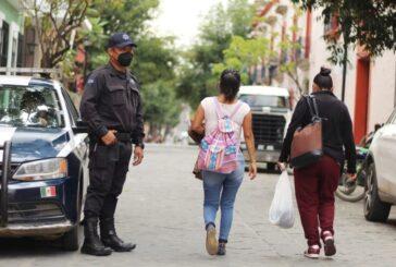 Asegura Policía Municipal de Oaxaca de Juárez a 34 personas por alterar el orden y la paz social