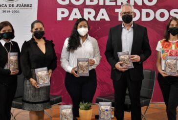 """Presentan Ayuntamiento de Oaxaca de Juárez y CANICA el libro """"La Maleta de Fortu"""""""