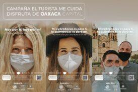 """Concientiza Ayuntamiento de Oaxaca de Juárez a visitantes con la campaña """"Turista Responsable"""""""