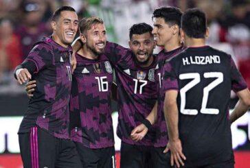 México golea 4-0 a un débil Nigeria