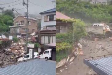 Video: Deslaves tras fuertes lluvias dejan al menos 19 desaparecidos en Japón
