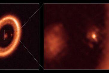 Detectan por primera vez un un disco que ayudará a estudiar la formación de lunas y planetas