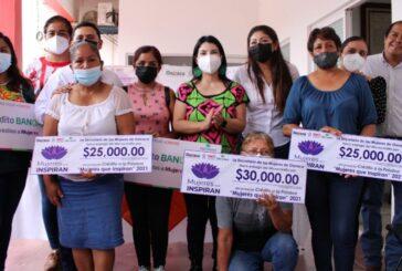 Impulsa SMO empoderamiento económico de las mujeres con la entrega de créditos