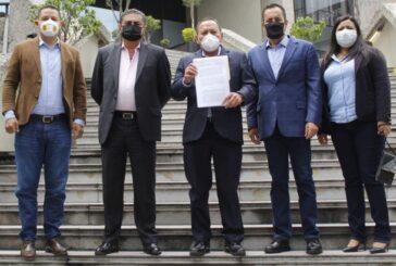 PRD presenta ante la Fiscalía de Delitos Electorales denuncia por intervención del crimen organizado a favor de morena en Michoacán