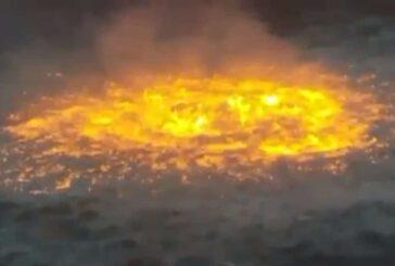 Ambientalistas como Greta Thunberg arremeten contra Pemex por incendio en Campeche