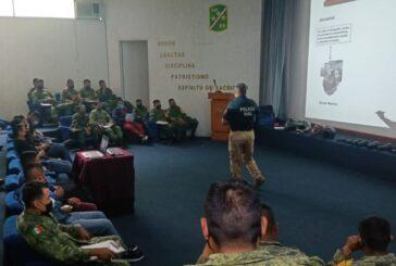 Capacita Ayuntamiento de Oaxaca a personal militar en materia de educación vial