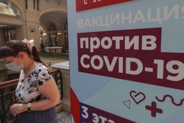 Toca Rusia nuevo récord de muertes diarias por covid-19
