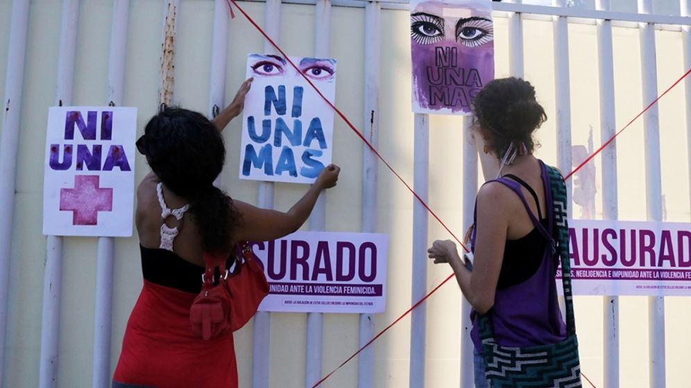 Feminicidios en México aumentan 3.3% en primer semestre de 2021