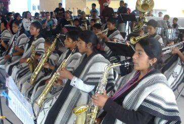 Roban instrumentos de banda filarmónica de Tlahuitoltepec