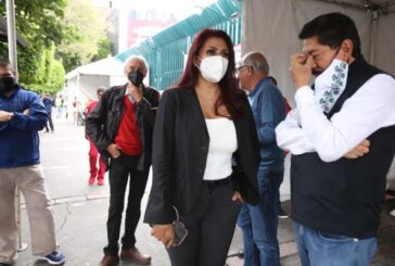 Ulises Ruiz y sus simpatizantes retiran bloqueo de sede del PRI nacional