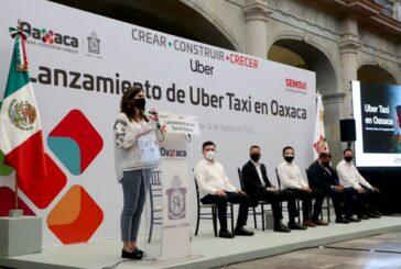 Llega Uber Taxi a Oaxaca, serán mil 320 taxis amarillos quienes brindaran el servicio