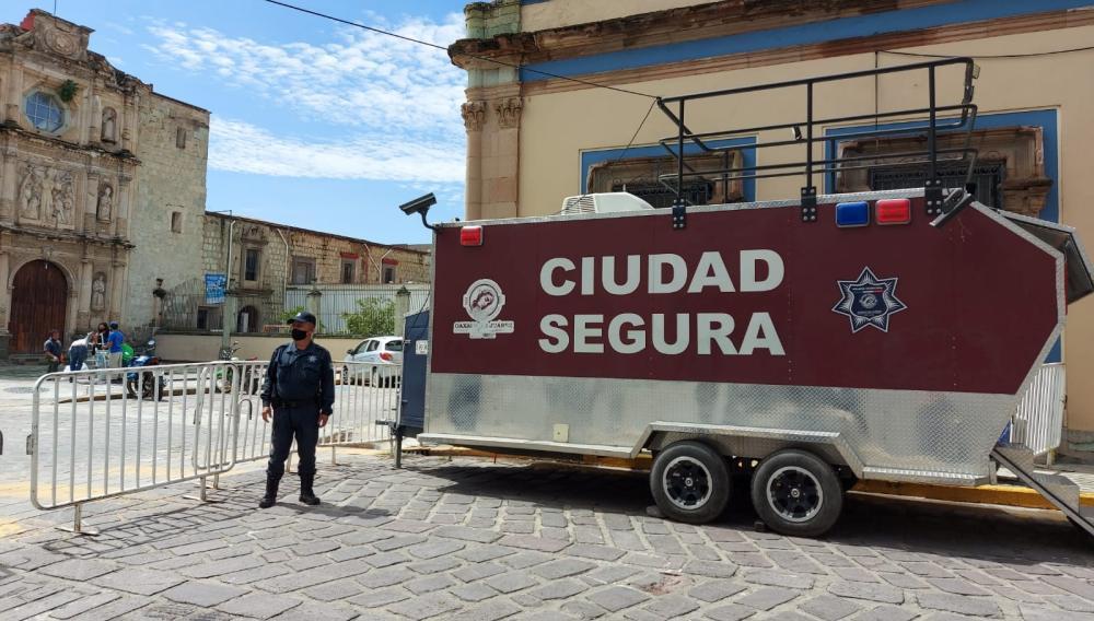 Ayuntamiento de Oaxaca emprende acciones para garantizar la seguridad de las y los capitalinos