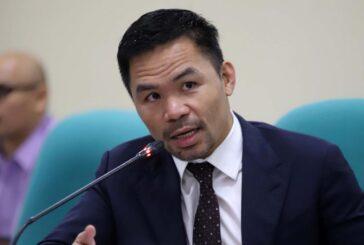 Pacquiao anuncia su candidatura por Filipinas