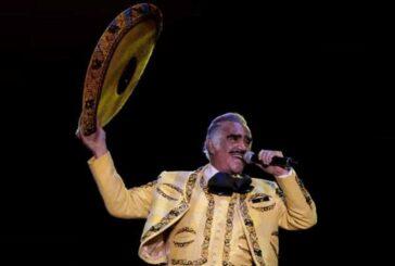 Vicente Fernández pide que lo despidan con esta canción