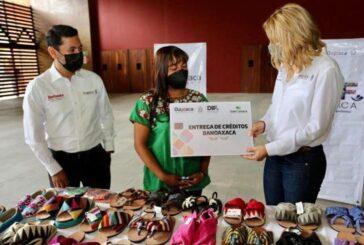 Cuando entregamos un crédito de BanOaxaca, apoyamos los sueños y negocios de las y los oaxaqueños: Ivette Morán