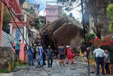 Reanudan labores de rescate en Chiquihuite; ajustan cifra de desaparecidos a 3