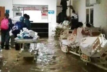 Mueren 16 pacientes del hospital de IMSS inundado por lluvias en Hidalgo, se quedaron sin oxigeno por falla eléctrica