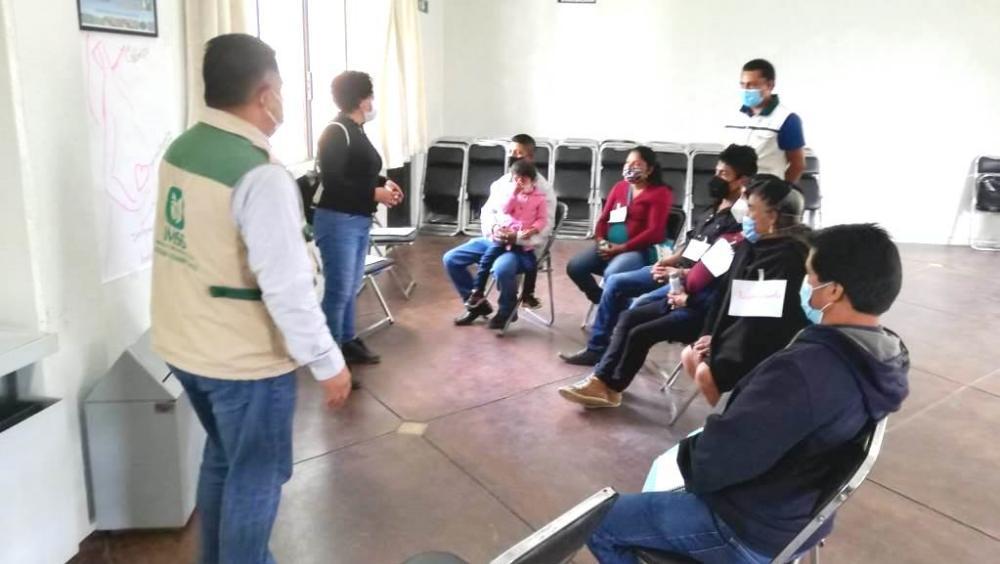 Realiza IMSS-BIENESTAR en Oaxaca talleres de orientación a mujeres para fortalecer la salud materna