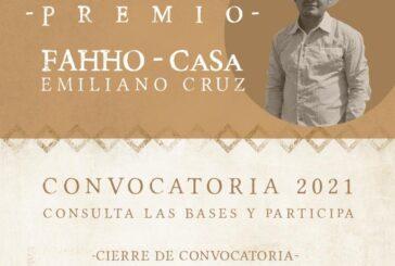 Invitan a postular a personas o colectivos para el Premio FAHHO-CaSa Emiliano Cruz