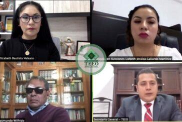 TEEO valida resultados de elecciones municipales en Loma Bonita, Valle Nacional y Santa María Jalapa del Marqués