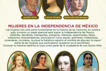 SMO llama a visibilizar y valorar papel de mujeres en el movimiento de la Independencia nacional
