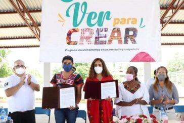 """En Santo Domingo Armenta, inicia Sepia y Fundación Devlyn ruta """"Ver para Crear"""""""