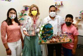 Artesanas y artesanos oaxaqueños nunca dejarán de sorprender a México y el mundo entero: Ivette Morán