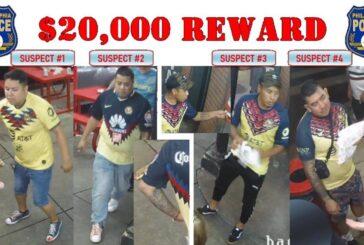 VIDEO; hombres mataron a golpes a un aficionado americanista en Filadelfia, policía ofrece recompensa