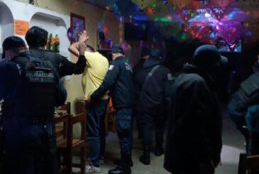 """Despliega SSP Oaxaca operativo """"Impacto"""" en bares y cantinas de la capital"""
