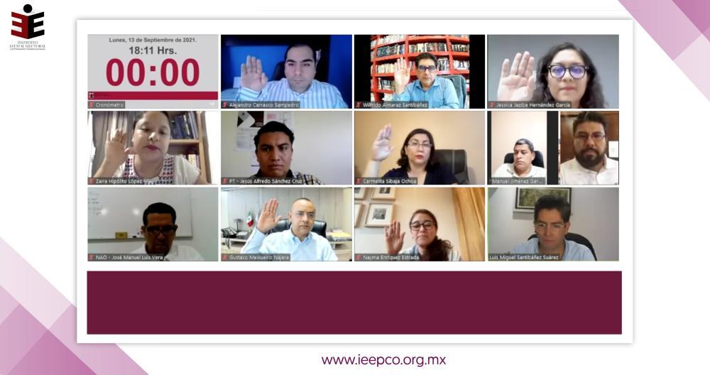 Convoca IEEPCO a integrar 25 Consejos Distritales para el Proceso Electoral Ordinario 2021-2022