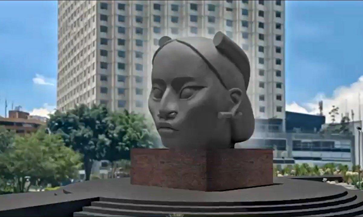 Tlali no sustituirá a Cristóbal Colón en Paseo de la Reforma, aclara Sheinbaum