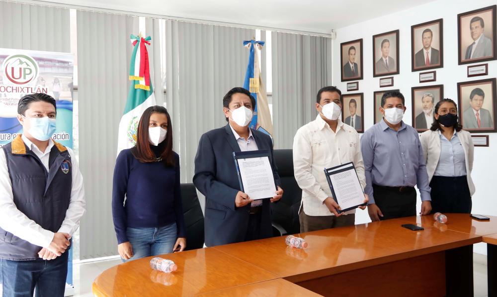 La UABJO estrecha lazos de colaboración con la UP de Nochixtlán