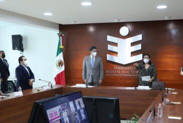 Toma protesta Carmelita Sibaja Ochoa como Presidenta Provisional de IEEPCO