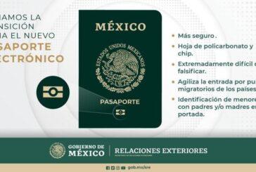 Presentan nuevo pasaporte mexicano electrónico que será prácticamente imposible de falsificar