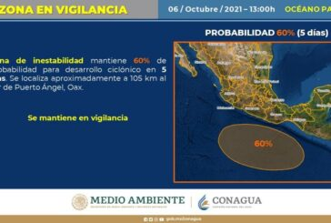 Emite CEPCO aviso especial por presencia de Frente Frío número 2 y Onda Tropical número 35