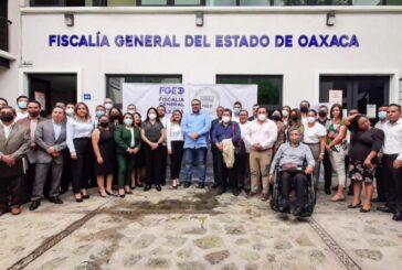 Presenta Fiscal General del Estado el Programa de Fortalecimiento Institucional de la FGEO