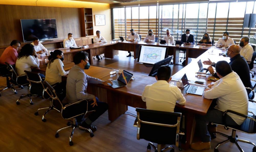 Gobiernos estatal y federal suman esfuerzos para dar continuidad a la rehabilitación de la Central de Abasto