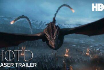 Lanzan espectacular primer teaser de 'House of the Dragon', precuela de Game of Thrones