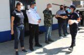 Reconocen a Policías Auxiliares por participar en programa de nutrición